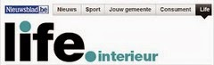 LEFEVRE INTERIORS FEATURED ON WEBSITE OF BELGIAN NEWSPAPER NIEUWSBLAD
