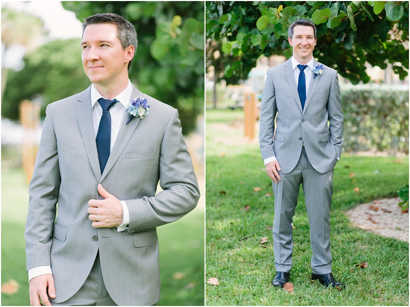 groom Florida beach wedding photography