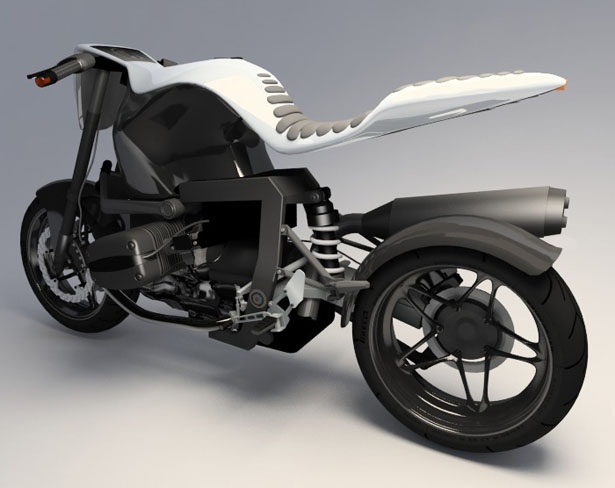 BMW 1150R Boxer Concept Bike | Concept Motorcycle | BMW Boxer naked bike concept Stefan Toth