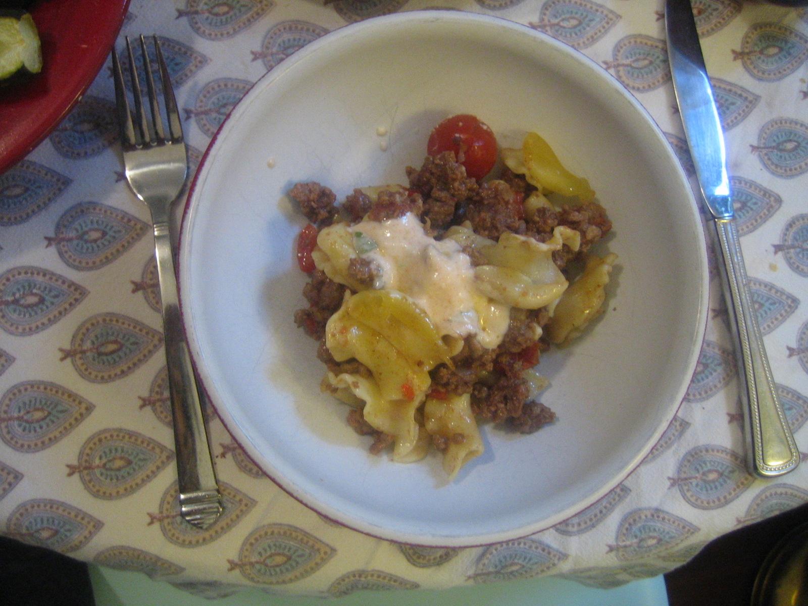 Tortellini With Yogurt, Mint, And Smoked Paprika Oil ...