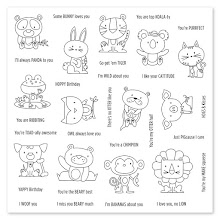 Funny Pals Operation Smile Stamp Set