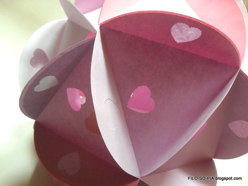 Lampadario Di Carta Velina : Filo so pia: lampadario di carta