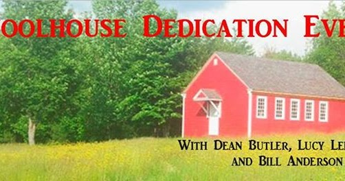 Laura's Little Houses: One-Room Schoolhouse Dedication