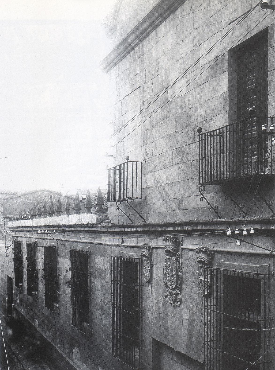 Salamanca en el ayer calle toro for Oficina 1892 banco santander
