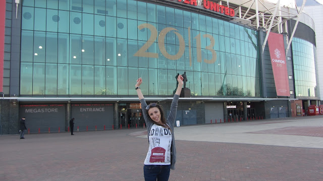 Antonia in Old Trafford