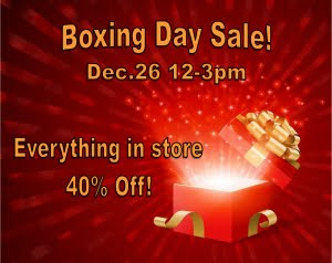 Boxing Day Bling Sale!