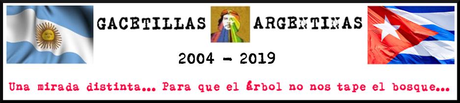 GACETILLAS ARGENTINAS