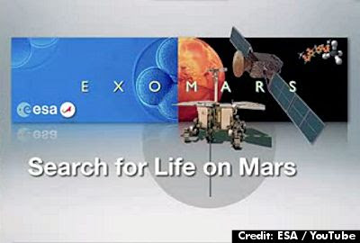 Search for Life On Mars By ESA