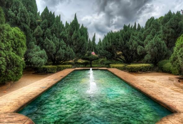 garden pool images