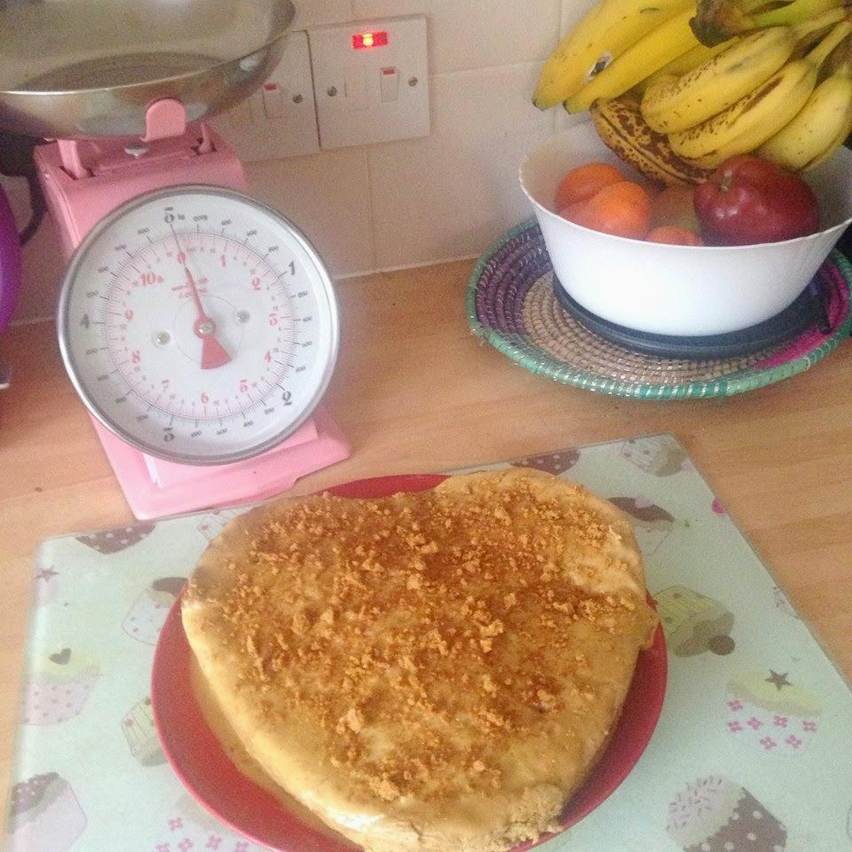 Lotus Biscuit Vegan Cake