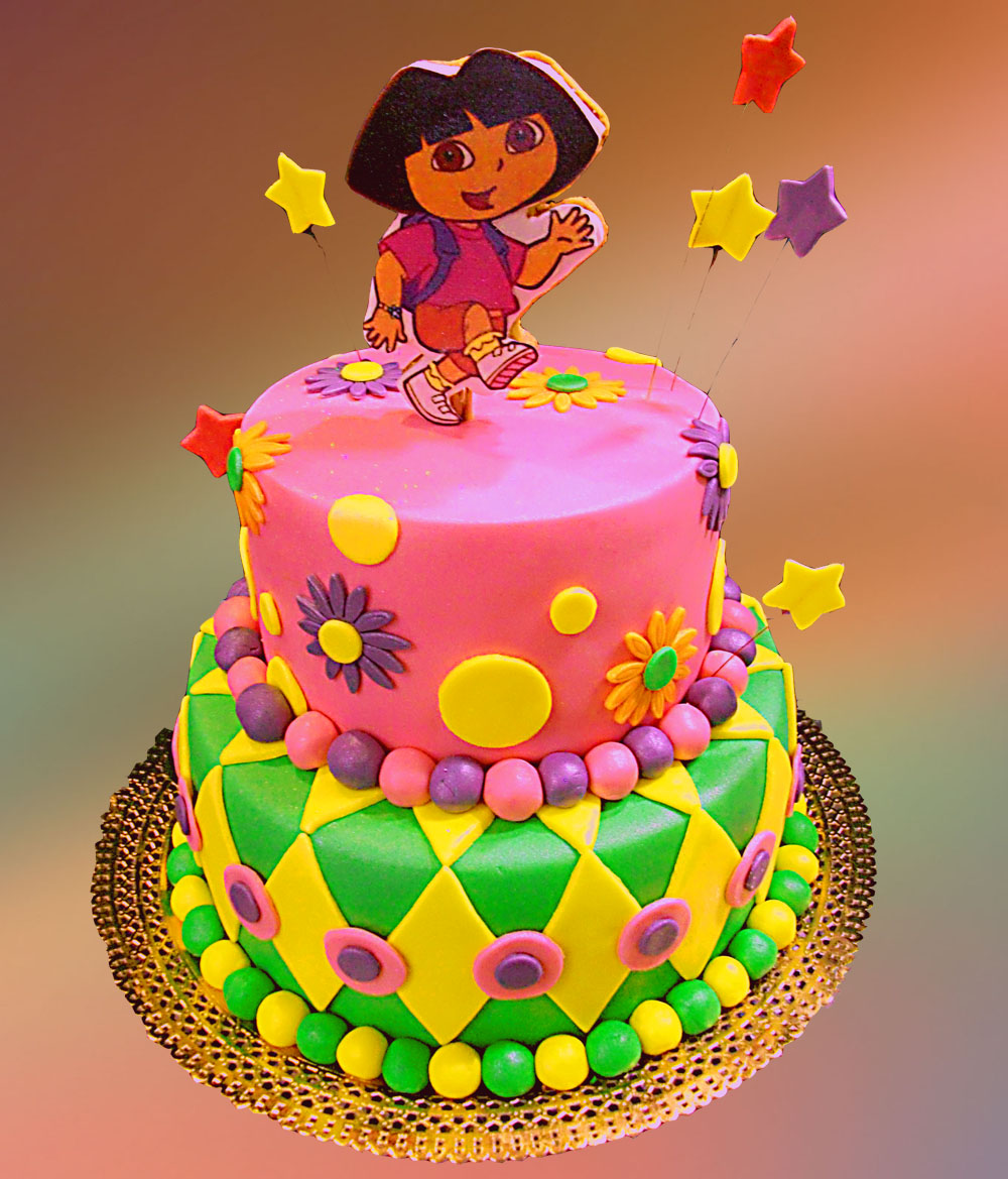 Cake Designs Dora The Explorer : Family Crafts and Recipes: How to be Super Mom: Dora ...