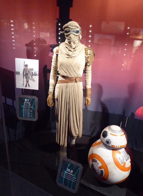 Star Wars Force Awakens Rey movie costume