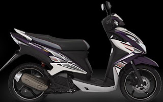 Yamaha New Xeon RC Warna Ungu (Regal Purple)