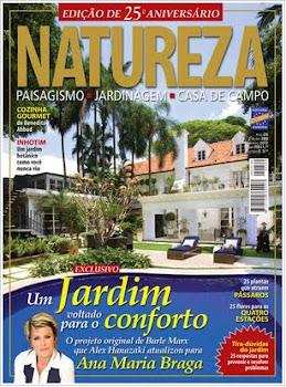 Ana Maria Braga na revista Natureza