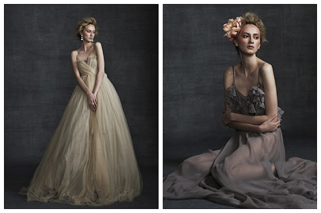 Incredible tinted wedding dresses would you