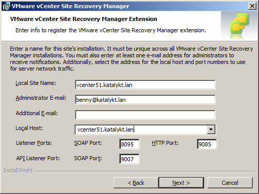 Katalykt using a custom ssl certificate for vmware site recovery as ive only filled the dns name vcenter51katalyktn in my openssl template i select it from the list yadclub Images