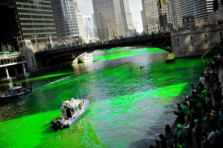 Frases De st-st patrick-saint patrick: Happy St Patick's Day  In Chicago