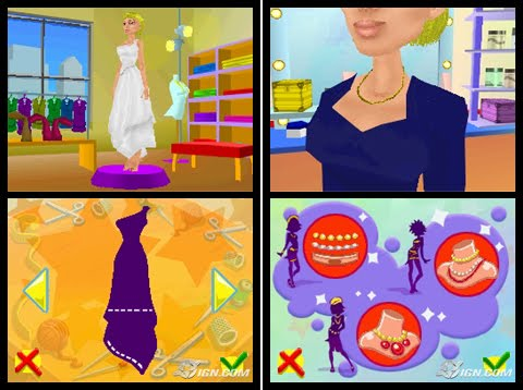Fashion designer games fashion for faith in four colors Online fashion designer games