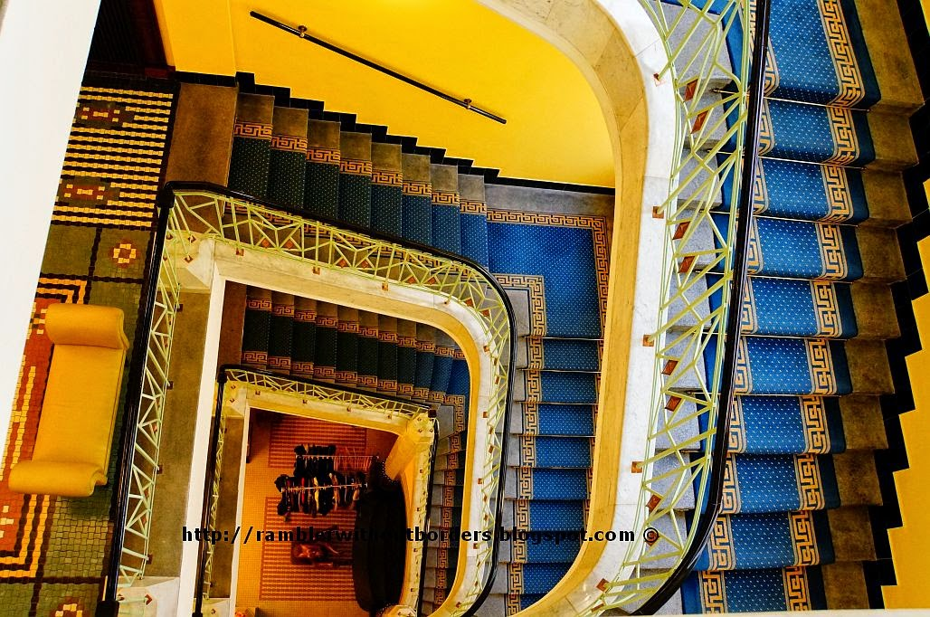 Staircase, Imperial Hotel, Prague