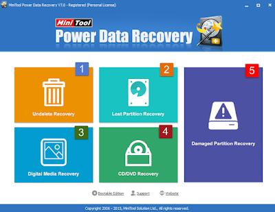 MiniTool Power Data Recovery எனும் மென்பொருள் இலவசமாக