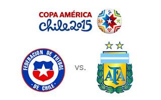 Final Copa America 2015 Chile Vs Argentina