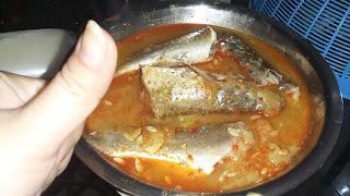 Ikan Belanak Masak Timun