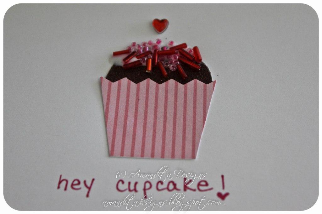 DIY Cupcake Valentines – Cupcake Valentine Card