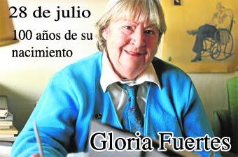 Gloria Fuertes...