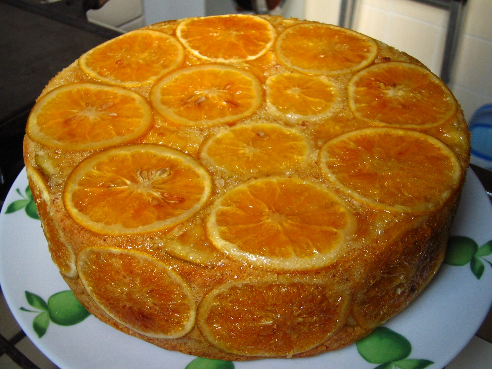 Vaqueiro - Torta de laranja e coco