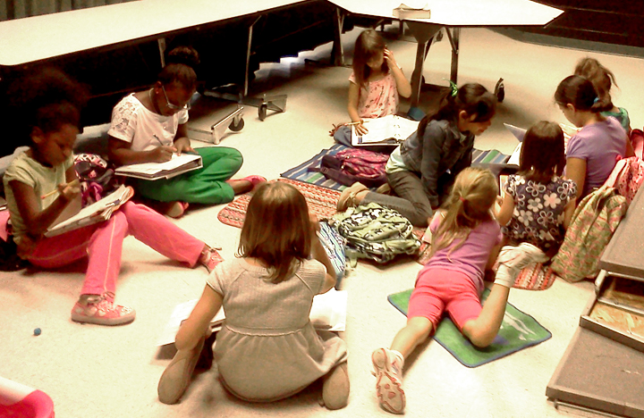 Girl Scout Troop 11584: 09/12/12 First Meeting of the Year!