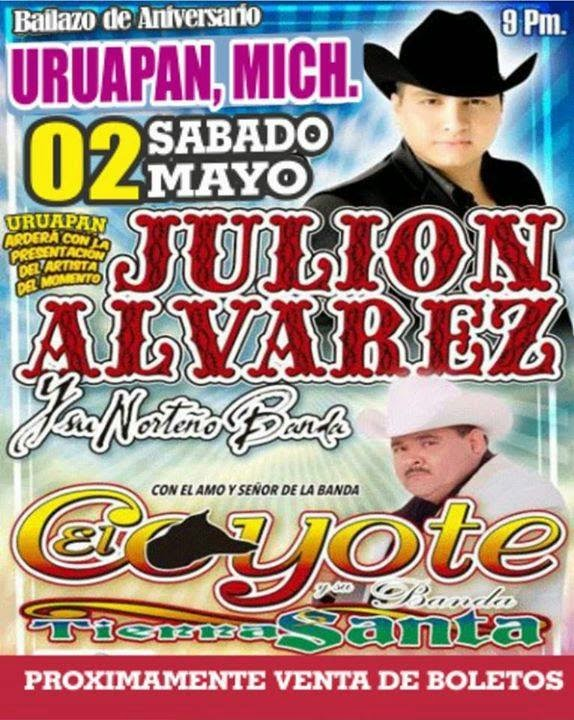 2 de mayo baile julion alvaerez en uruapan
