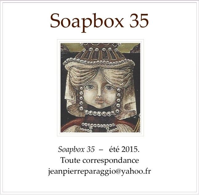 SOAPBOX 35, Feuillet de l'UMBO, ART & POÉSIE