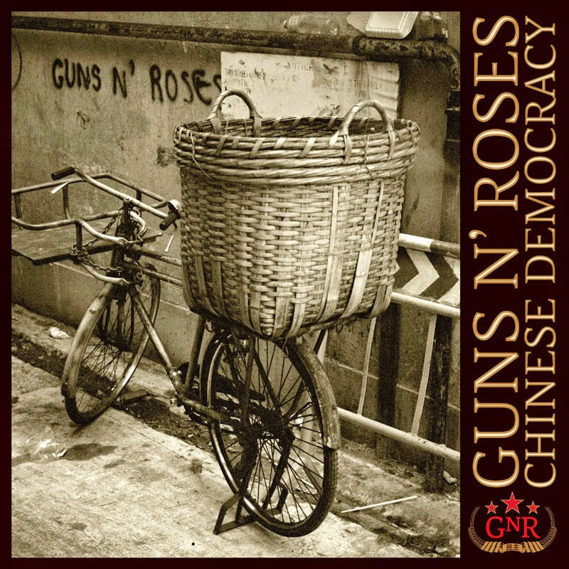 Portada Guns & Roses-Chinese Democracy