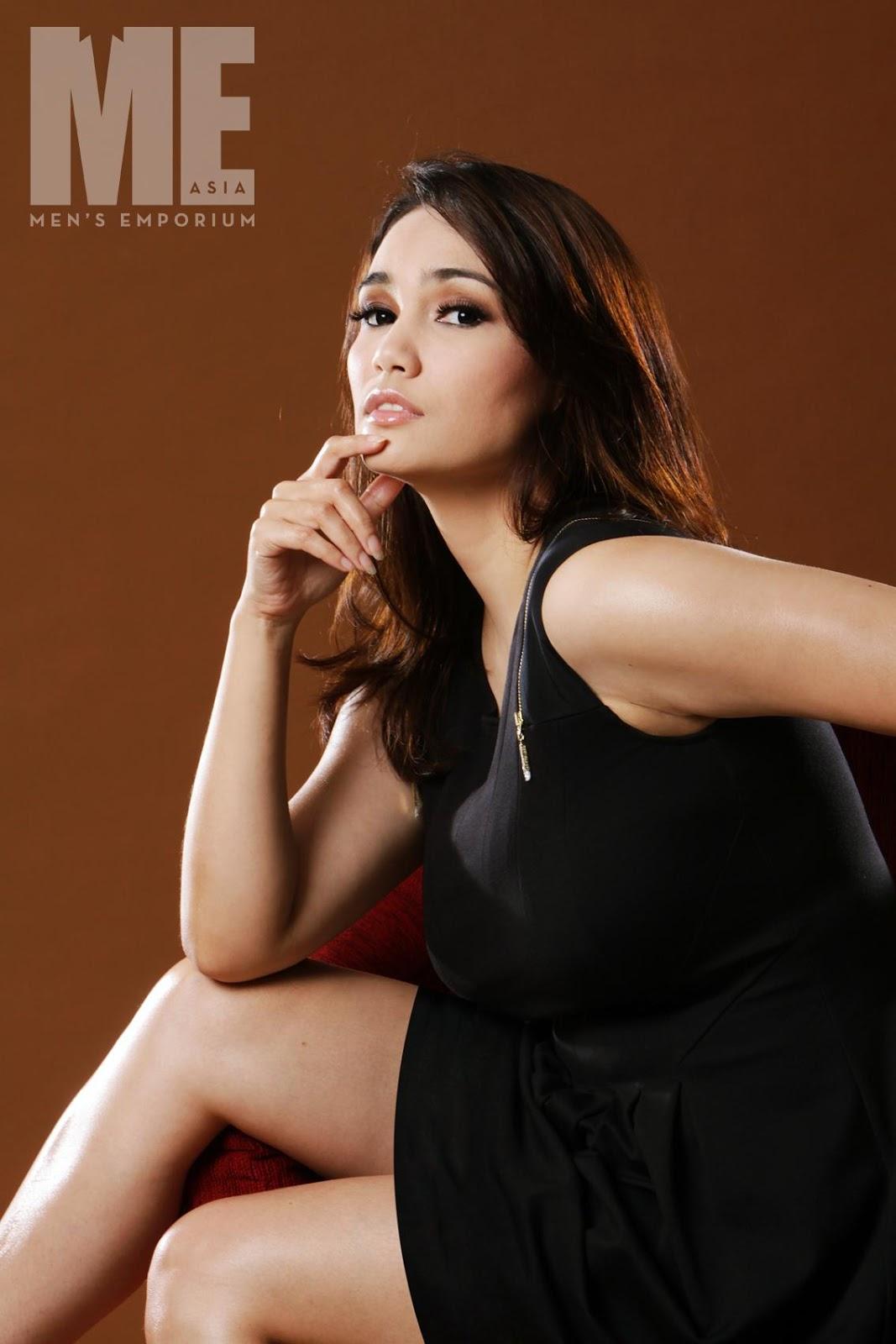 Feby Febiola for ME Asia Magazine February 2013 | KABAR HOTSELEBRITIS