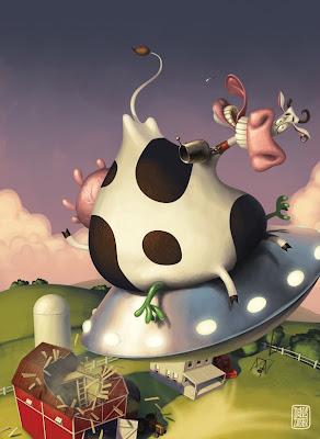 Корова - инопланенянин