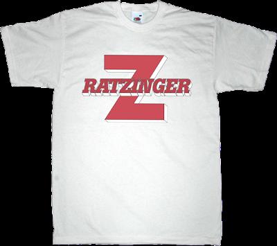 useless religions pope ateism mazinger z t-shirt ephemeral-t-shirts