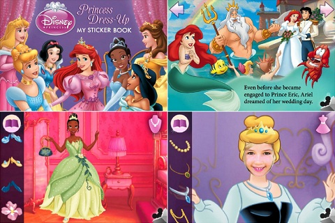 Princess Dress-Up app