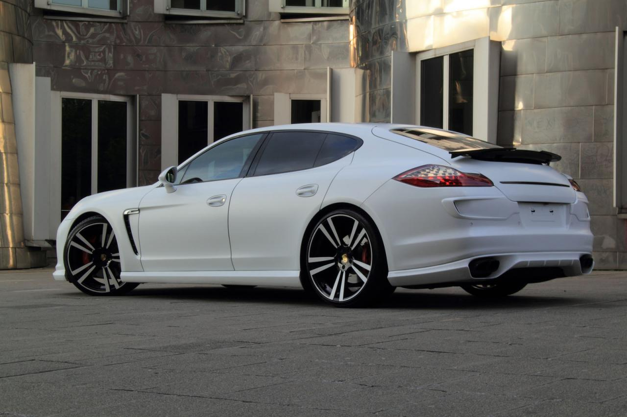 porsche panamera white storm edition by anderson germany modern interior design. Black Bedroom Furniture Sets. Home Design Ideas