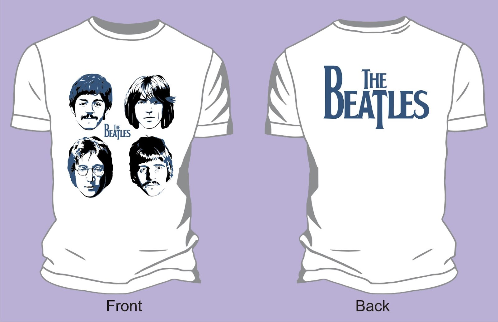 the_beatles-poster_vector