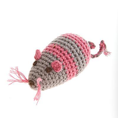 jouet chat crochet