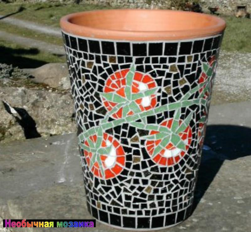 Декор глиняных горшков своими руками 30