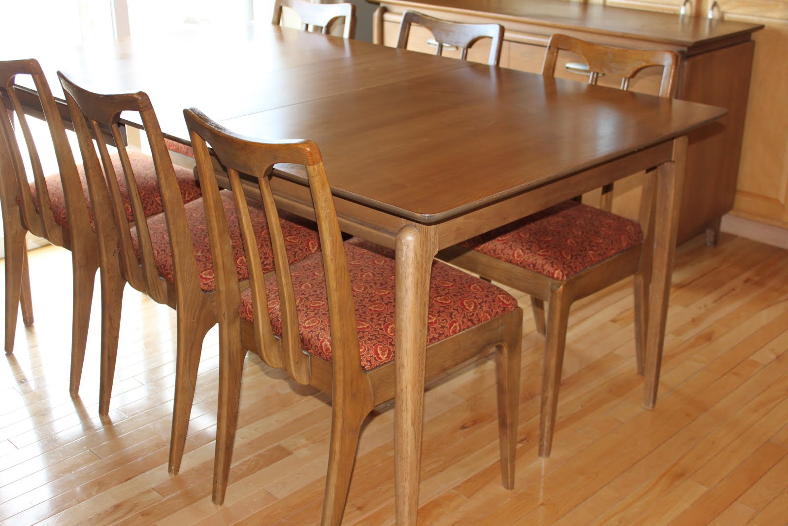 Excellent Drexel Projection Series Dining Set With Buffet Credenza 1000