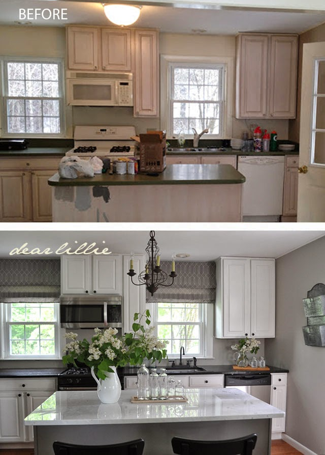 dear lillie a new light fixture and marble in jason 39 s kitchen. Black Bedroom Furniture Sets. Home Design Ideas