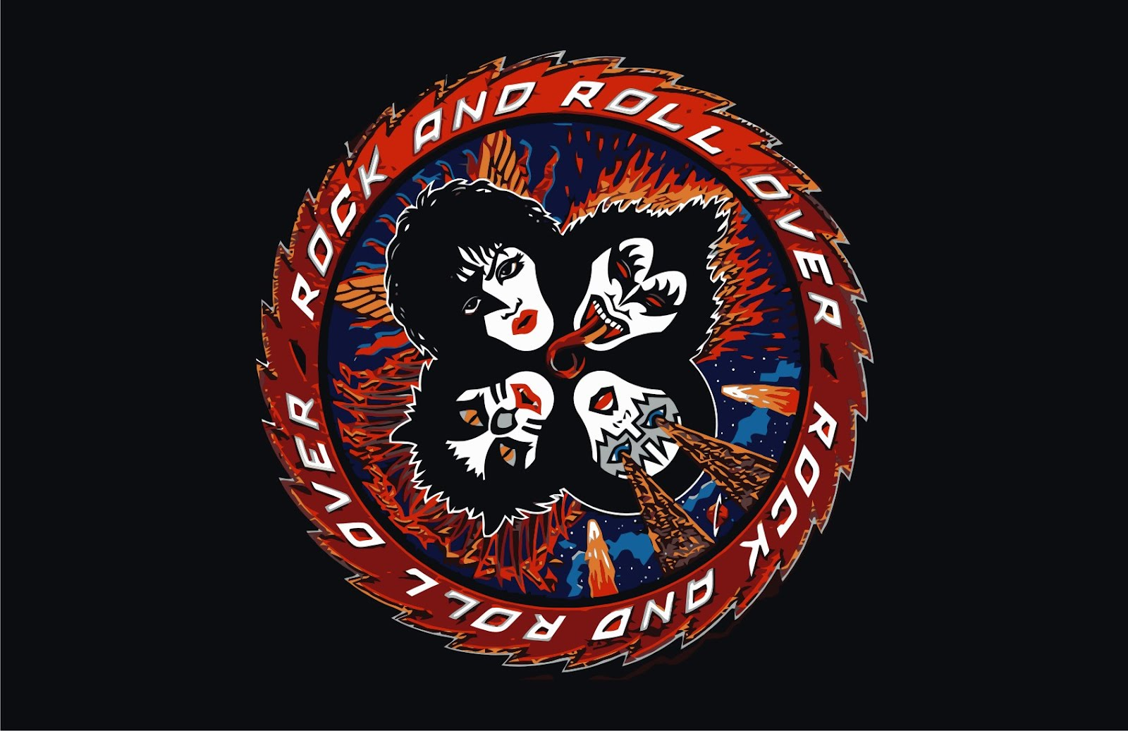 kiss-rock_and_roll_over_back_vector