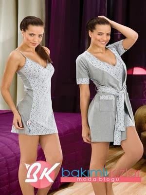 Yeni Moda Bayan Sabahlık Modelleri