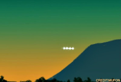UFO Sighting Over Burbank 7-7-12