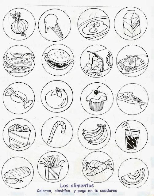 TE CUENTO UN CUENTO: Alimentos saludables y alimentos chatarra ...