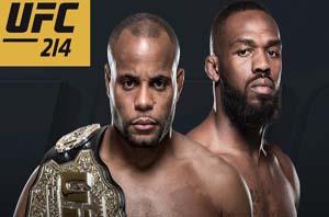 UFC 214 - CARD DE LUTAS