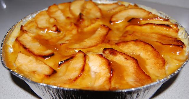 Tarta Mágica de Manzana
