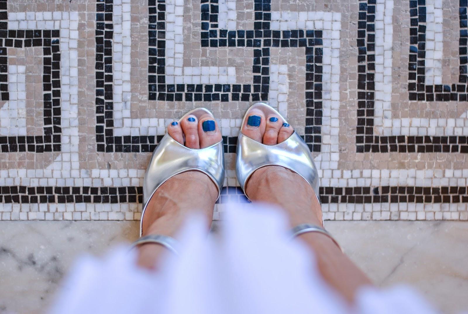 3.1 phillip lim Cody silver heels d'orsay